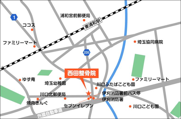 当院のイラストマップ